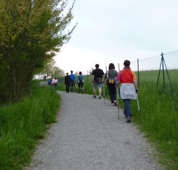 Gruppi di cammino di Nordic Walking